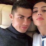 El beso de Georgina y Cristiano para celebrar la copa de la Liga de las Naciones
