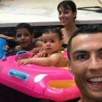 Cristiano Ronaldo felicita a sus mellizos Eva y Mateo en su segundo cumpleaños
