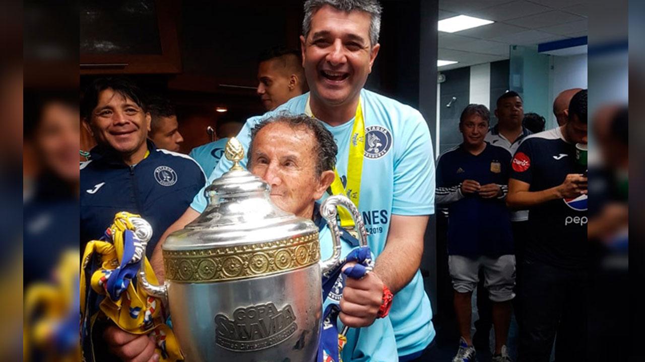 Diego Vázquez: El técnico más ganador en la historia de Motagua