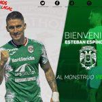 OFICIAL: Esteban Espíndola regresa a Honduras y ficha con Marathón