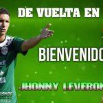 El defensa Jhonny Leverón regresa a Marathón