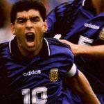Veinticinco años del último gol de Maradona en la selección Argentina