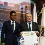 Rodrygo en su presentación con Real Madrid: «Cumplo el sueño de todos los niños brasileños»