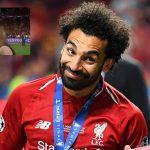 La reacción de Salah cuando pensó que una periodista lo iba a besar (VÍDEO)