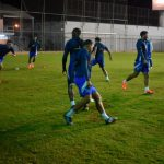 Honduras entrena en Paraguay