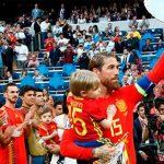 Homenaje a Sergio Ramos por su récord mundial de victorias