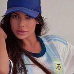 Susy Cortez alienta a Messi y a la selección Argentina (FOTOS)