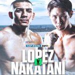 Teófimo López peleará ante el japonés Masayoshi Nakatani