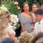 Madre del hijo de Neymar se casa en medio de las acusaciones de violación al jugador