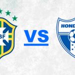 Alineaciones de Brasil y Honduras en el Beira-Rio