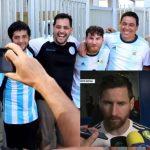 El falso Messi brasileño fue furor festejando con los colombianos (VÍDEO)