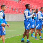 Selección de Honduras entrenó en el Estadio Beira-Rio de cara al partido ante Brasil