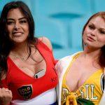 Las hermosas mujeres que robaron suspiros en la Copa América 2019 (FOTOS)