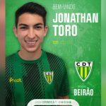 Tondela de Portugal hace oficial la contratación de Jonathan Rubio