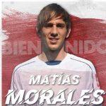 Olimpia contrata al argentino Matías Morales