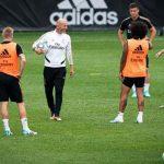 Zidane vuelve a dirigir los entrenamientos en Montreal