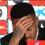 Eder Militao se marea en su presentación con el Real Madrid (VÍDEO)