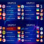 Así quedaron los grupos de la Champions League 2019-2020