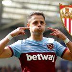 «Chicharito» Hernández dejará el West Ham por el Sevilla