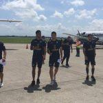 Comunicaciones ya está en Honduras para el partido ante Marathón