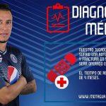 Erick Andino se pierde el torneo Apertura, Héctor Castellanos baja por un mes