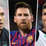 Messi, Cristiano Ronaldo y Van Dijk aspiran al premio de mejor jugador UEFA