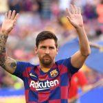 Lesión de Messi lo dejaría fuera durante un mes