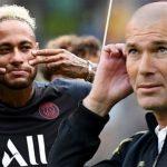 Neymar causa furor al publicar foto con Zidane