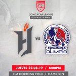 Olimpia inicia su camino en Concacaf enfrentando al Forge FC de Canadá