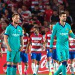 Granada sorprende y vence 2-0 al Barcelona