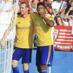 «Choco» Lozano anota su primer gol con el Cádiz