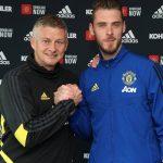 David de Gea renueva con el Manchester United hasta 2023