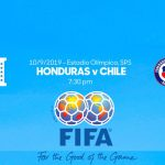 Alineaciones de Honduras y Chile