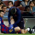 Messi se vuelve a lesionar y enciende las alarmas en el Barcelona