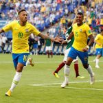 Neymar encabeza nómina de Brasil ante Senegal y Nigeria