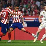 Real Madrid y Atlético empataron sin goles en el Wanda Metropolitano