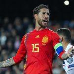 Sergio Ramos iguala a Iker Casillas en el récord de partidos con España