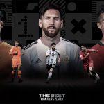 Messi, Cristiano Ronaldo y Van Dijk, los tres candidatos al premio The Best 2019