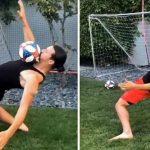 Zlatan Ibrahimovic lanza el Matrix challenge, nuevo reto viral en Internet (VÍDEO)