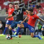 Chile empata 0-0 con Argentina antes de enfrentar a Honduras