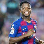 Ansu Fati fue convocado a la selección Sub-21 de España