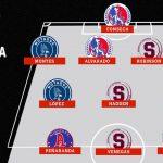 Olimpia y Motagua dominan el equipo de las semifinales de la Liga Concacaf
