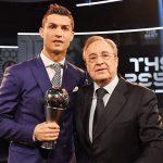 Florentino Pérez quiere fichar a Cristiano Ronaldo de por vida