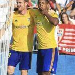 «Choco» Lozano frena su racha goleadora con el Cádiz