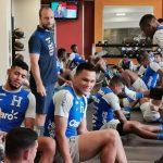 Selección de Honduras ya entrena en Trinidad y Tobago