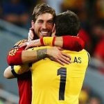 Iker Casillas felicita a Sergio Ramos: «Es un placer que me hayas superado»