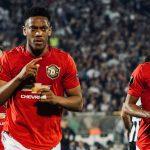 Manchester United gana en su vuelta a Belgrado