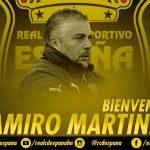 El uruguayo Ramiro Martínez es el nuevo entrenador del Real España