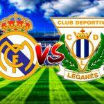 EN VIVO: Real Madrid ya juega con el Leganés en el Santiago Bernabéu