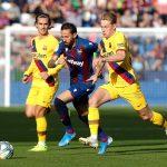 Levante remonta en siete minutos y vence 3-1 al Barcelona